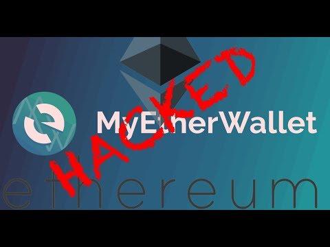 Wie Funktionierte der MyEtherWallet Hack