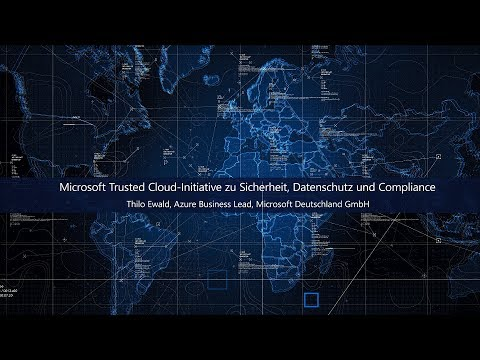 Microsoft Trusted Cloud-Initiative zu Sicherheit, Datenschutz, Compliance, Transparenz | Microsoft