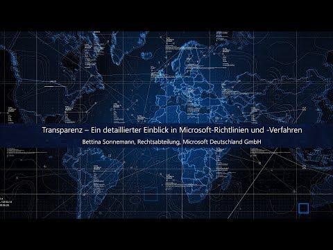 Compliance & Transparenz – Einblick in Richtlinien und Verfahren | Microsoft