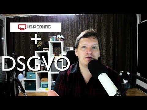 ISPConfig Update zu den DSGVO Einstellungen in der Praxis