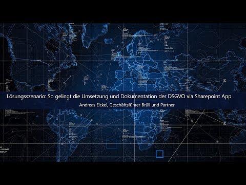 Lösungsszenario: So gelingt die Umsetzung und Dokumentation der DSGVO via Sharepoint App | Microsoft